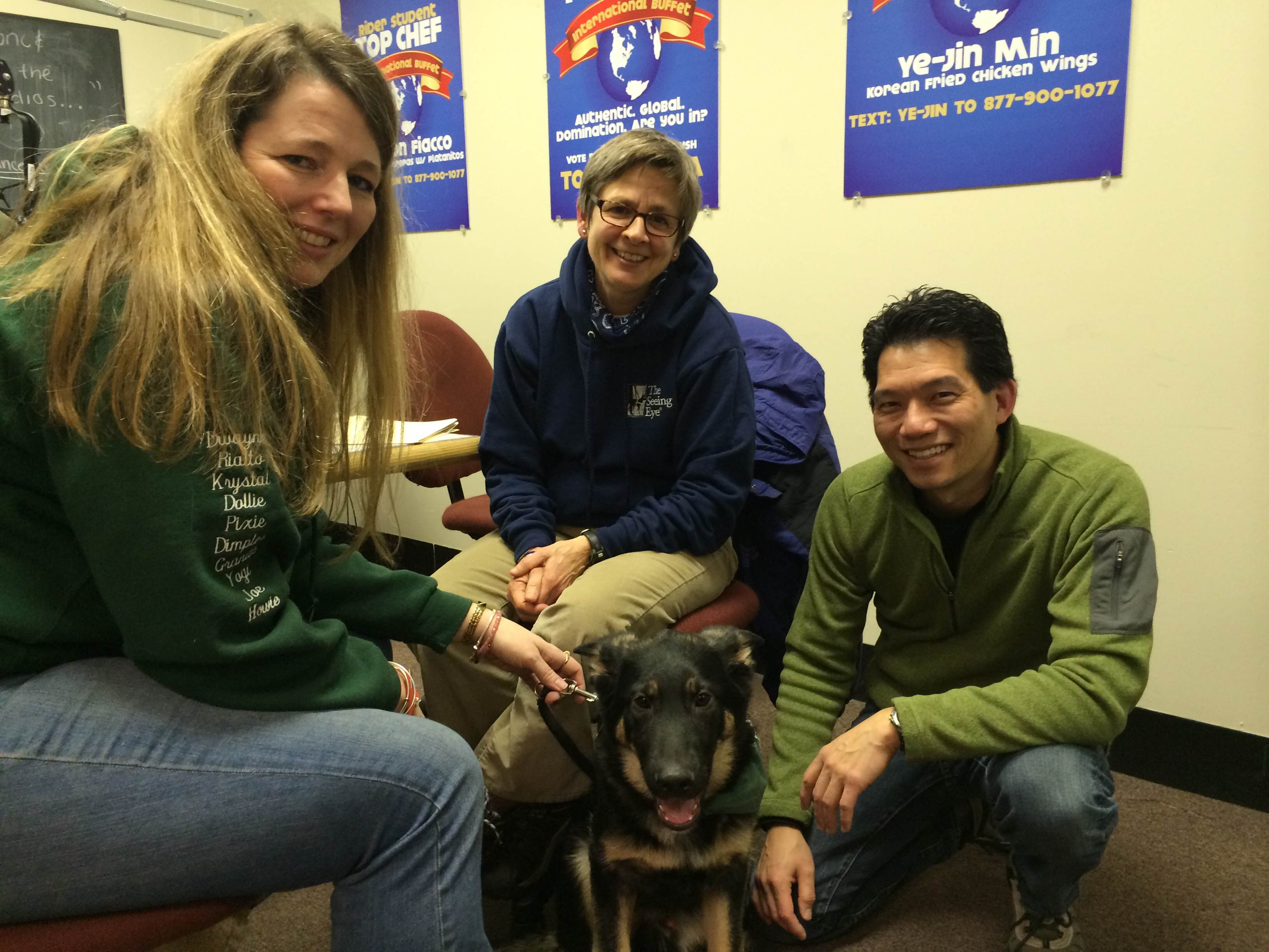 February 21, 2015 – The Seeing Eye, Inc. comes to visit!