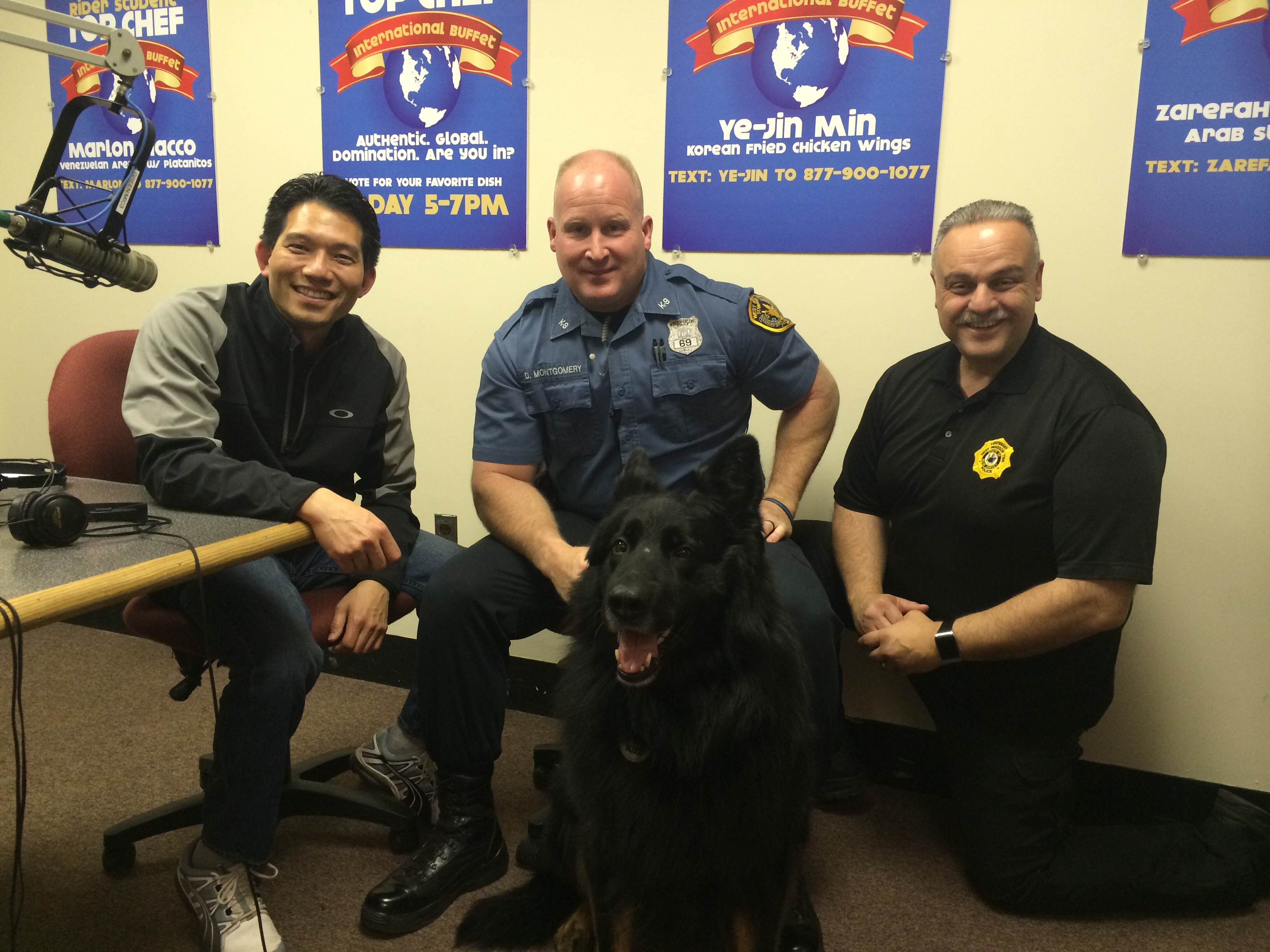 May 2, 2015 – West Windsor Police Department comes to visit!