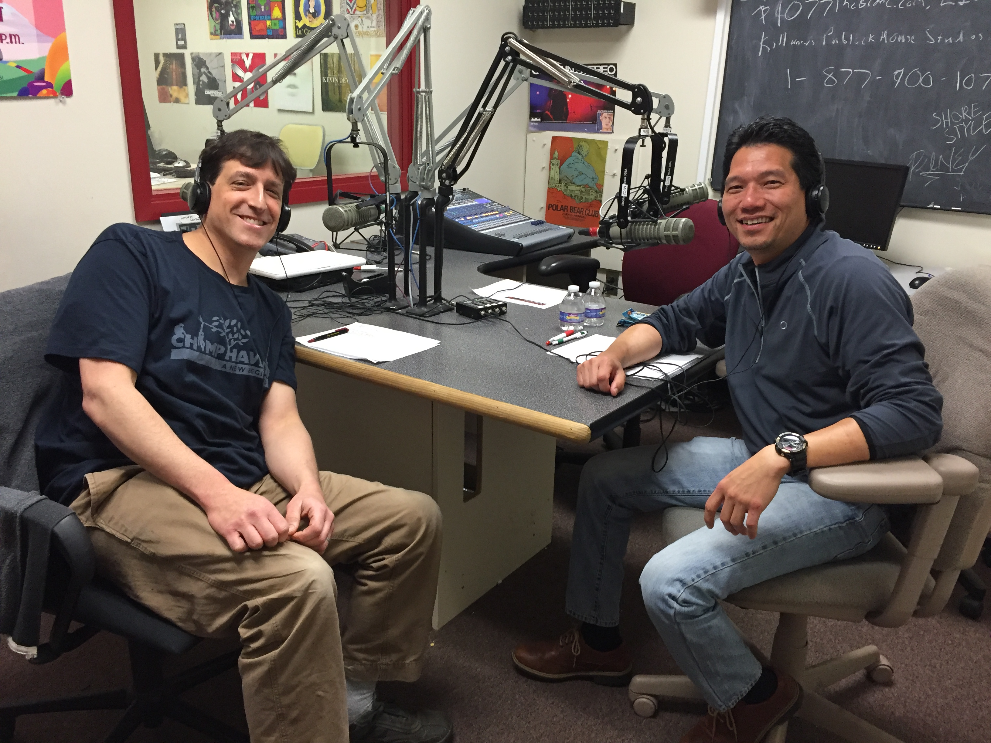 May 07, 2016 – Dr. Ian Spiegel, Veterinary Dermatologist and Dr. T broadcasting LIVE from our studio.
