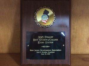 2015 NJBA Finalist Award