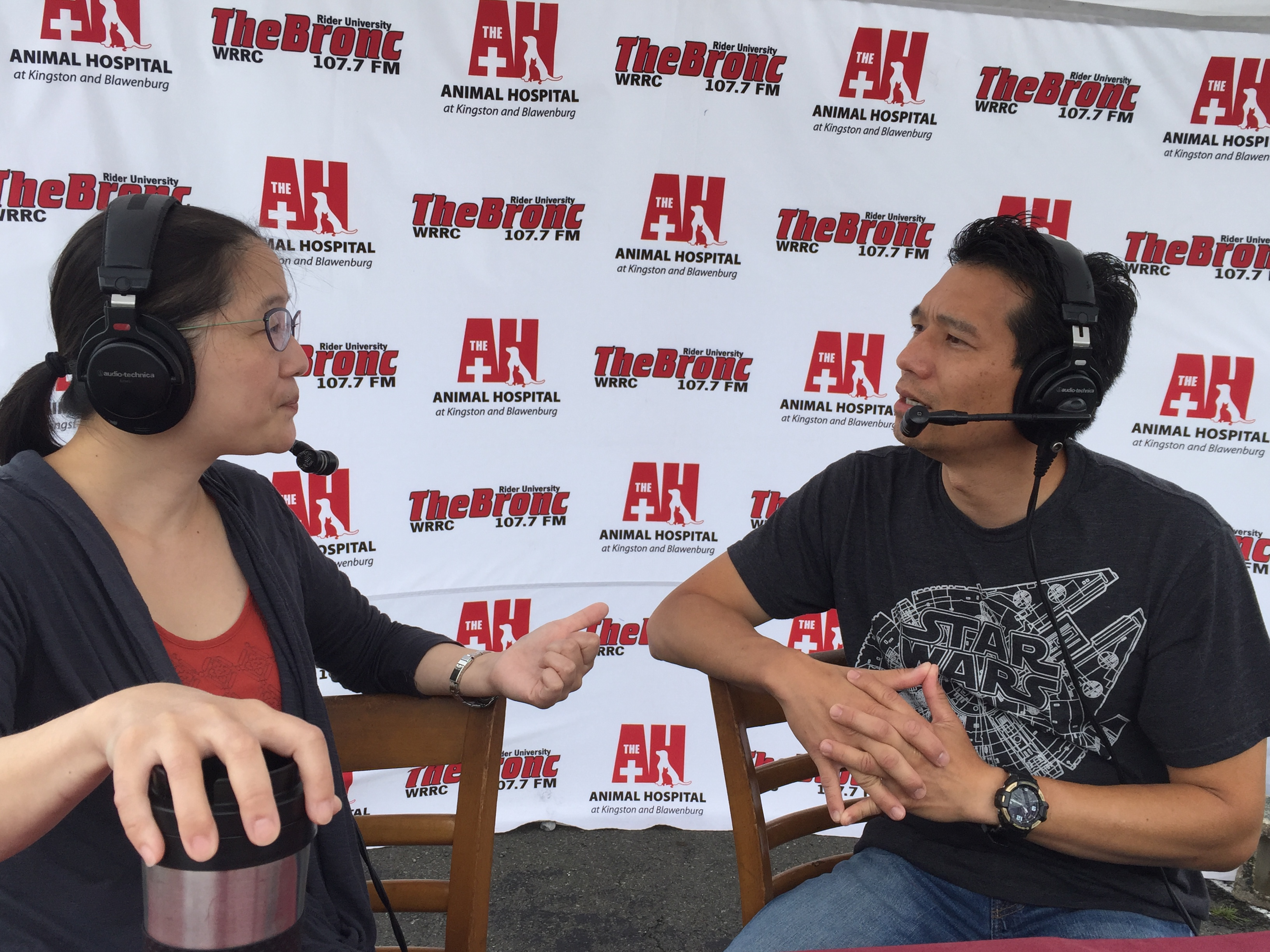 July 09, 2016 – Dr. Jennifer Kim of NorthStar VETS and Dr. T LIVE from the Trenton Farmers' Market