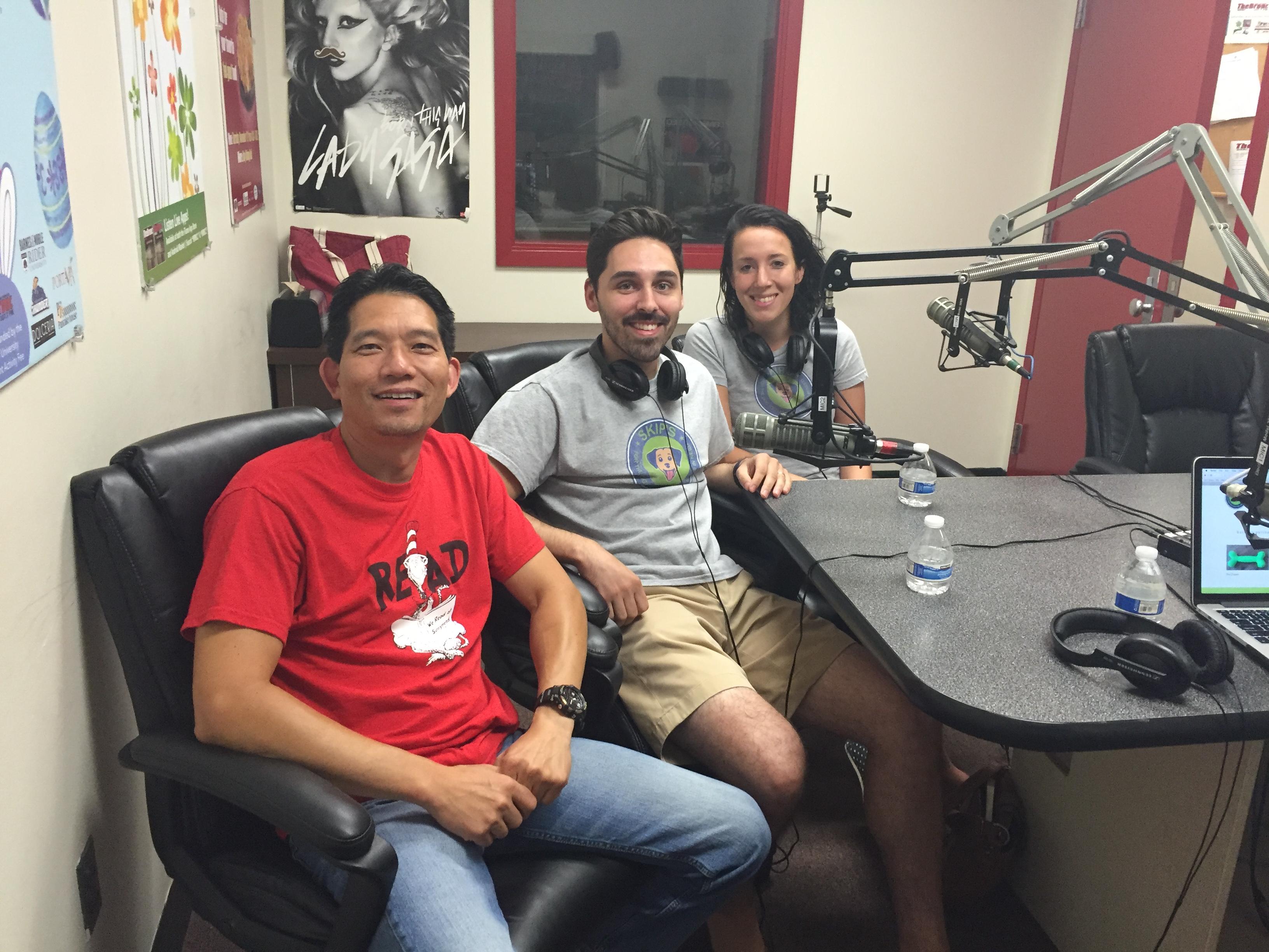 July 23rd, 2016 – Dr. T is joined by Skip's for Dogs owners John and Kylee Formento.