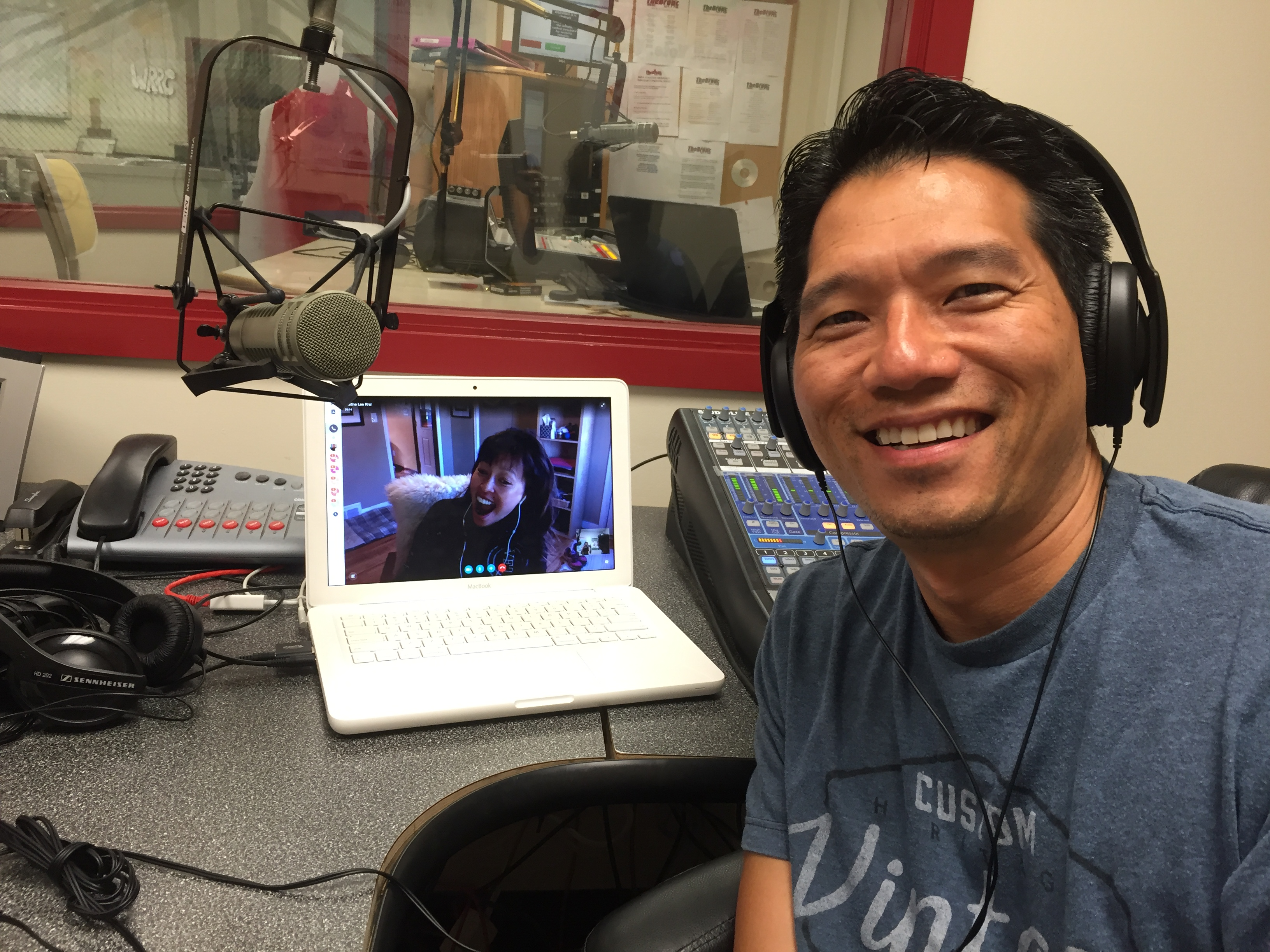 September 10, 2016 – Check out Dr. T and Dr. Justine Lee joining us via Skype from Saint Paul, Minnesota.